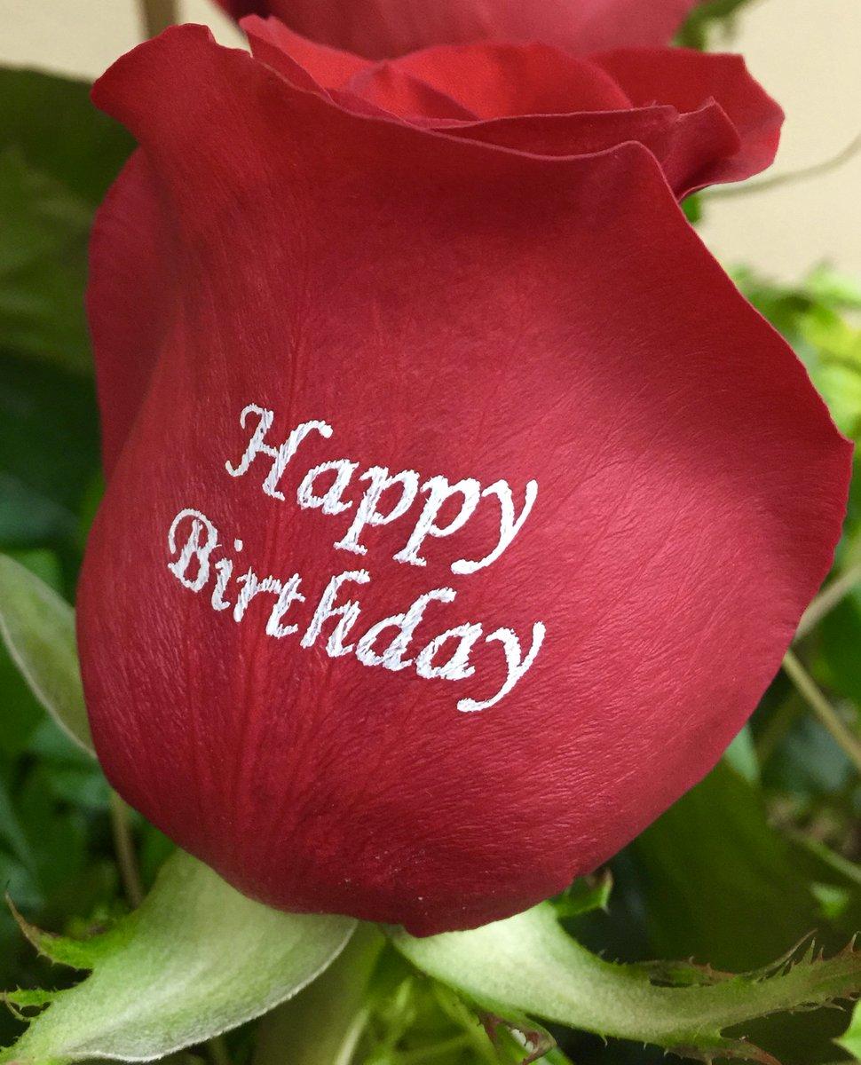 Happy Birthday Personalized Roses